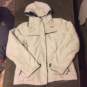 Women's The North Face hyvent jacket.